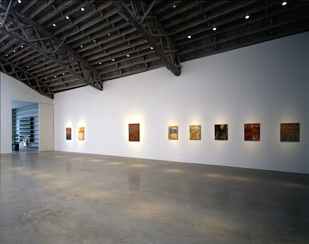 <p>Bill Jensen Installation. Photo courtesy Mary Boone Gallery, New York</p>