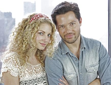 Lauren Molina and Jason Tam. Photograph by Win Lubin.