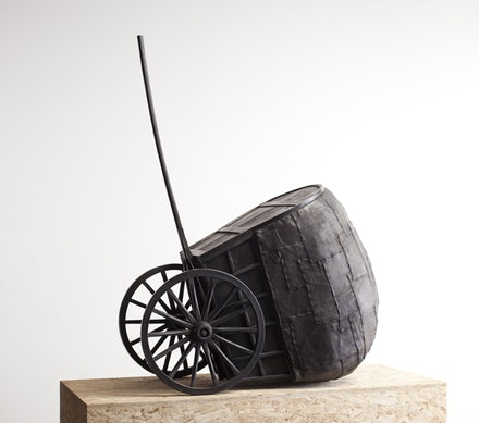 "Martin Puryear, ""The Rest,"" 2009-10. Bronze. 47 x 35 x 20 inches. Edition of 2. © Martin Puryear. Courtesy McKee Gallery, New York."