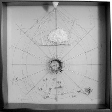 """Alexis Myre, """"Ojo de Dios,"""" 2012. Collection of Bob Holman."""