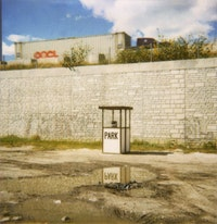<i>Park</i> (2000). Installation by Deborah Stratman. Image courtesy of the filmmaker.