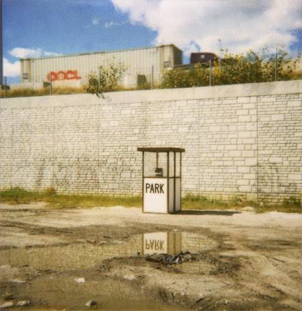 <i>Park</i> (2000). Installation by Deborah Stratman. Image courtesy of the filmmaker.