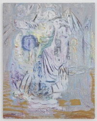 "Michael Berryhill, ""Sensitive Parlour Ghost,"" 2012. Oil on linen. 30 x 24"". Courtesy of the artist and Kansas Gallery."