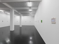 "View of Raoul De Keyser, ""To Walk,"" 2012. Photo: Jens Ziehe. Courtesy Galerie Barbara Weiss, Berlin."