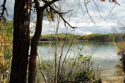 Photo of Walden Pond by Daynuh, flickr.com.