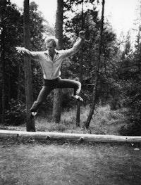 Douglas Dunn, 1985. Photo by Susan Dunn