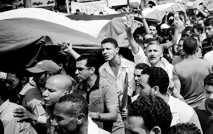 Tahrir Square. Photo by Hossam el-Hamalawy. flickr.com.