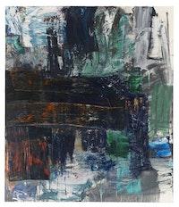 "Louise Fishman, ""Zero at the Bone,"" 2010. Oil on linen. 70 x 60"". Courtesy Cheim & Read, New York."