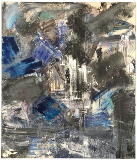 "Louise Fishman, ""Assunta,"" 2012. Oil on linen. 70 x 60"". Courtesy Cheim & Read, New York."