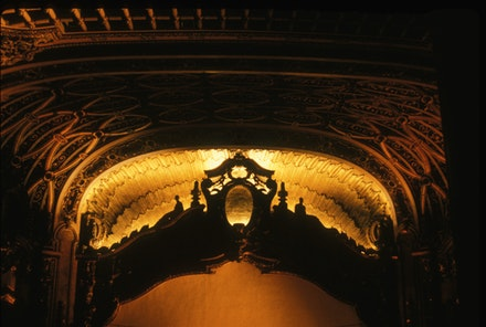 Proscenium arch at Brooklyn Paramount. Photo: Stuart Fishelson.