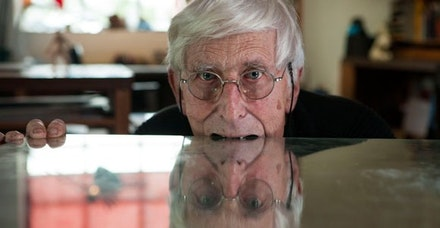 <em>Far Out Isn't Far Enough: The Tomi Ungerer Story</em>, photo by Sam Norval Photography.
