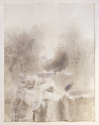 "Walter Tandy Murch, ""Study #18,"" 1962. Transparent and opaque watercolor and charcoal on very thick woven paper, 58.4 cm x 44.5 cm. Hood Museum of Art, Dartmouth College, Hanover, NH; gift of Mr. and Mrs. Thomas R. George, Class of 1940."