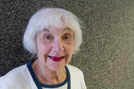 Muriel Mervis. Photo by Sharon Gamsin.