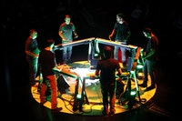 Mantra Percussion performing at BAM. Photo: Mike Benigno.