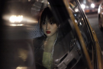Rin Takanashi in <i>Like Someone in Love</i>, directed by Abbas Kiarostami. Copyright Eurospace. A Sundance Selects release.