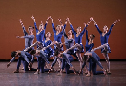 Members of New York City Ballet in Justin Peck's