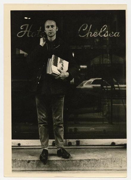 Jonas Mekas, 1970. Photo: Friedl Bondy.