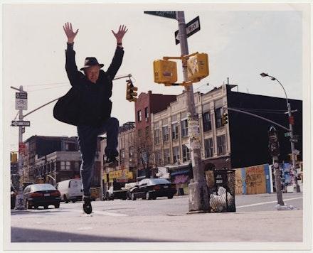 Jonas Mekas, 2003. Photo: Miss Liz Wendelbo.