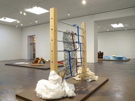 Installation view of Richard Tuttle: Systems, VIII—XII. 534 West 25th Street, New York. September 7 – October 13, 2012.