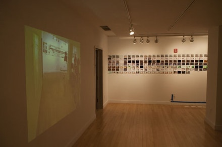<i>Mind the Gaps, Mine the Gaps</i>. Installation shot by Tommy Mintz. Courtesy of Hudson Guild Gallery.