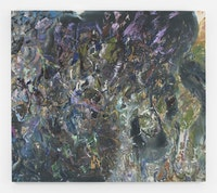 "Larry Poons, ""The Venetian,"" 2012. Acrylic on canvas, 68 1/2 x 78""."