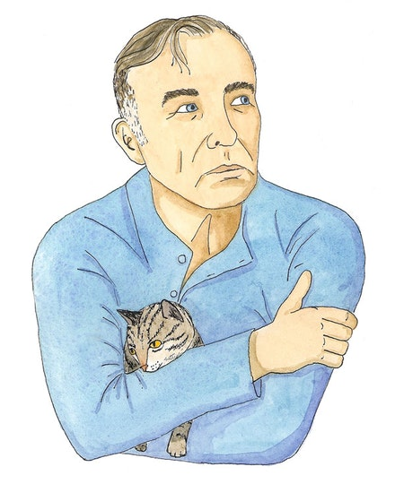 Morrissey. Illustration by Megan Piontkowski.