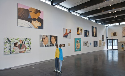 <i>Katz x Katz</i> at the Yale School of Art. On view January 15 to March 10, 2013. Photo by Sandra Burns. Art © Alex Katz/Licensed by VAGA, New York, NY