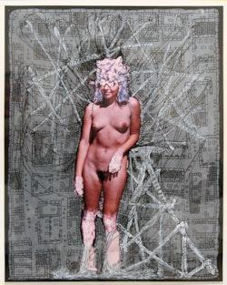 <p>Kim Jones,&nbsp;&ldquo;Untitled,&rdquo; 1995 - 2004. Acrylic and ink on color photograph, 13.75 x 10.75&rdquo;. Image courtesy the artist and Pierogi. </p>