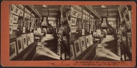 M. Knoedler & Co. (interior.) C. 1860, albumen print.