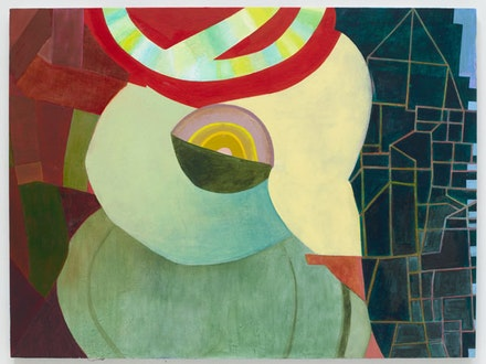 """Thomas Nozkowski, """"Untitled (9-26) (The Katy Kill),"""" 2012. Oil on linen on panel, 30 x 40"""". (c) Thomas Nozkowski, courtesy Pace Gallery. Photo courtesy Pace Gallery."""