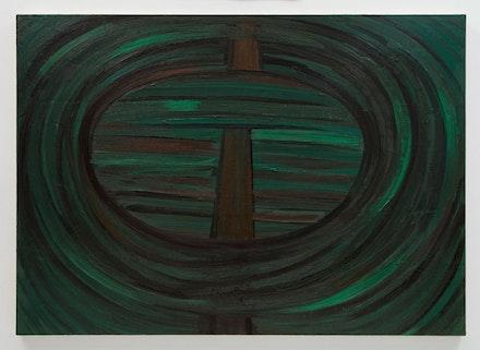 "Robert Bordo, ""(wacko),"" 2012. Oil on canvas, 40 x 56"". Photo: Joerg Lohse. Image courtesy Alexander and Bonin, New York."