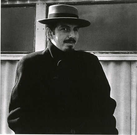 Portrait of the Artist (Robert Creeley) As a Spanish Assassin, Black Mountain College, 1954. Photo: Jonathan Williams. Black Mountain College Museum and Arts Center, Asheville.