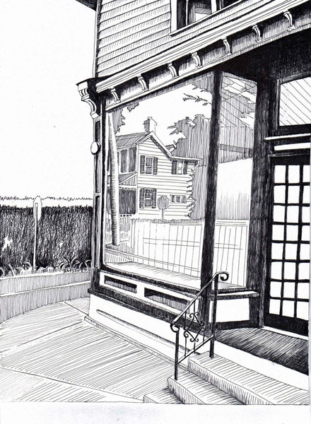 2. Empty storefront in Upper Nyack that inspired Hopper's <a href=