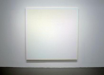 "Sanford Wurmfeld, ""II-16 + B (Light),"" 2013, Acrylic on canvas, 72 x 72""."