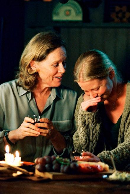 Liv Ullmann and Julia Dufvenius