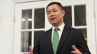 John Liu at a meeting of the Central Brooklyn Independent Democrats—May 23, 2013. Photo: Raul Rothblatt.