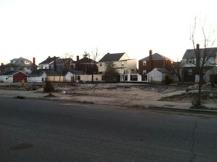 Fifteen homes in Belle Harbor, many of which lined Beach 130th Street, burned down the night of Hurricane Sandy. Photo by Amanda Waldroupe.