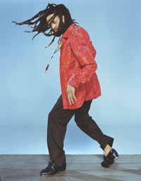 Savion Glover. Photograph by Savion Glover Productions.