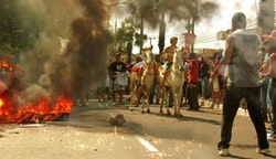 Street protests in Fortaleza (6-27-13). Credit: David Capibaribe/ZonnaVIP