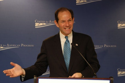 Eliot Spitzer. Courtesy of the Center for American Progress.