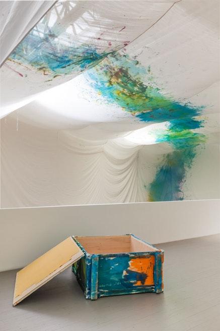 Reto Pulfer, <em>Zustandseffekte</em>, 2013. Courtesy the artist; Balice Hertling, Paris; and HollyBush Gardens, London.