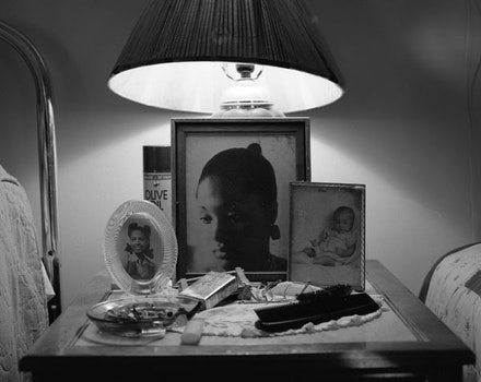 "LaToya Ruby Frazier, ""Aunt Midgie and Grandma Ruby,"" 2007, Silver Gelatin Print, 20 x 24"". All artworks courtesy of LaToya Ruby Frazier © LaToya Ruby Frazier."