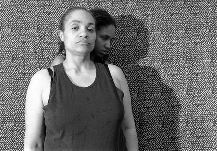 "LaToya Ruby Frazier, ""Momme Portrait Series (Shadow),"" 2008. Silver Gelatin Print, 20 x 24"". All artworks courtesy of LaToya Ruby Frazier © LaToya Ruby Frazier."