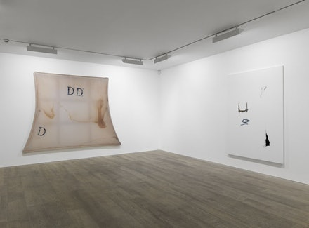 Stuart Shave/Modern Art <i>Provisional Painting</i>, curated by Raphael Rubinstein, 2011. Featuring Julian Schnabel