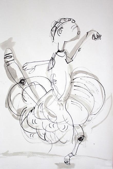 Jasmine, Grade 4, P.S. 297, Brooklyn. Artist/instructor: Elaine Greenstein.