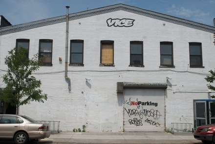 Vice hq (N. 10th St. side). Photo: Ari Paul.