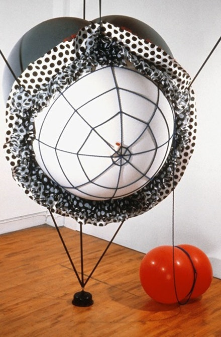 Nancy Davidson,'Spindarella', 1994, latex & fabric, plastic & rubber, 122 x 84 x 60