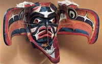 Kwakiutl transformation mask. Source: Aldona Jonaitis 1991: pp. 42, 43.