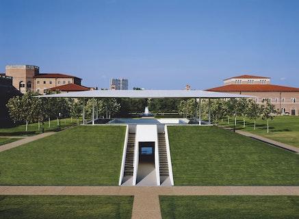 "James Turrell, ""Twilight Epiphany,"" 2012. A James Turrell Skyspace. The Suzanne Deal Booth Centennial Pavilion, Rice University, Houston. TX © James Turrell, photo © Florian Holzherr."