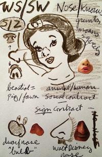 Page from Jarrett Earnest's WS notebook, 2013.